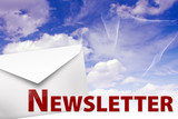newsletter news brief neuigkeiten himmel wolken poster
