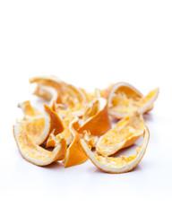 Trocken Orangenschalen