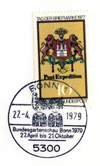 commemorative special postmark and stamp