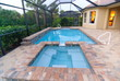 canvas print picture - Swimming pool
