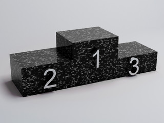 podium noir