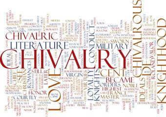 Chivalry word cloud
