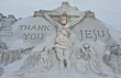 Jesus Sand Sculpture