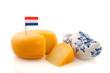 Leinwandbild Motiv Dutch cheese