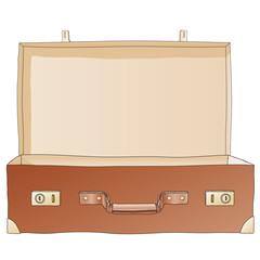valigia aperta