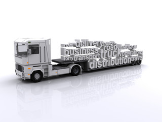 Haulage Distribution Tag Cloud