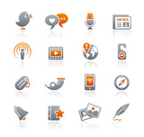 Graphite Icons  //  Blog & New Media