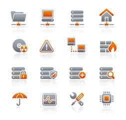 Graphite Icons  //  Network & Server