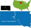 State of South Dakota, USA