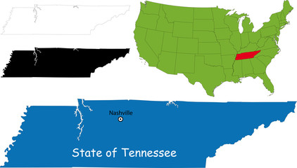 State of Tennessee, USA