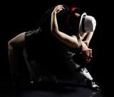 Naklejka tango dance