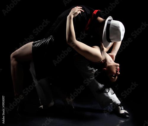 Fotobehang Dans tango dance