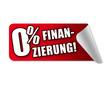 0% Finanzierung! Button