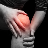 Knee pain poster