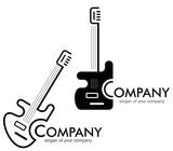Guitar - logo, logotype poster