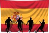 Soccer- Fussball WM Team Spanien poster