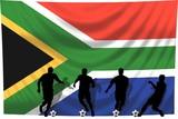 Soccer- Fussball WM Team Südafrika poster