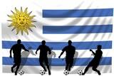 Soccer- Fussball WM Team Uruguay poster