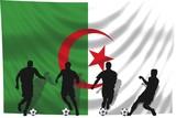 Soccer- Fussball WM Team Algerien poster