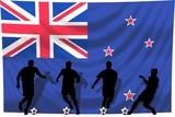 Soccer- Fussball WM Team Neuseeland poster