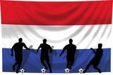 Soccer- Fussball WM Team Niederlande poster
