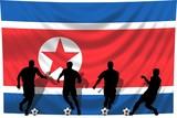 Soccer- Fussball WM Team Nordkorea poster