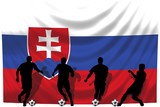 Soccer- Fussball WM Team Slowakei poster