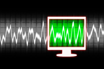 digital sound wave