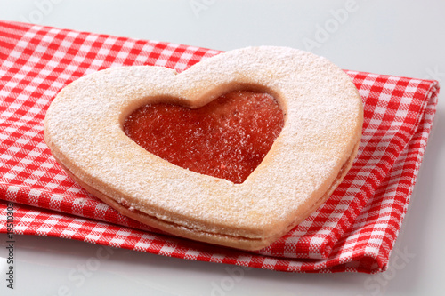 Heart shaped  cookie