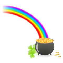 leprechaun treasure cauldron