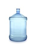 purified drinking water bottle poster