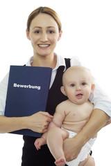 Bewerbung mit Baby