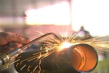 Welding in Factory