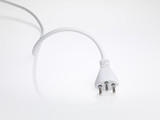 swiss isolated white powercord - 1