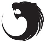Tiger's silhouette logo