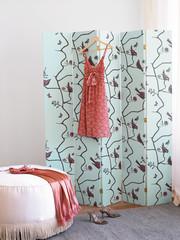home interior, women's dressing