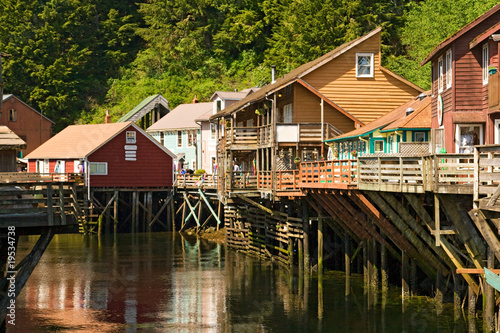 Shopping Village in Ketchikan, Alaska