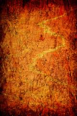 grunge orange wooden background