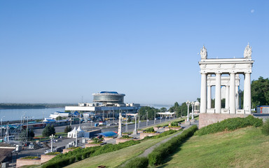 The central quay of Volgograd