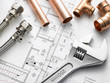 Plumbing Equipment On House Plans - 19544978