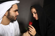An Arab Man Declares His Emotions With A Rose