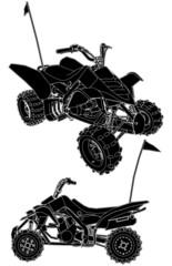 Quadrocycle Vector 01