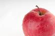 Apple on a white bakcground