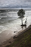 Erosion of Baltic coast due to the storms and climate change poster