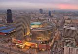 Fototapety Urban Landscape at sunset.