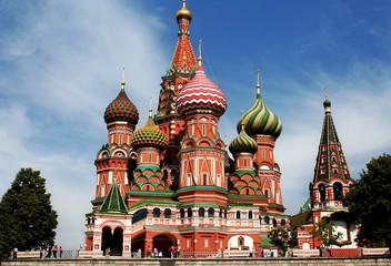 Basiliuskathedrale, Moskau - St. Basil's Cathedral, Moscow