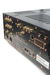 Hi-Tech AV receiver's connectors