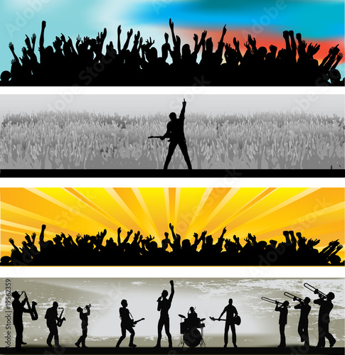 Music Web Banners