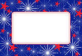 Fourth of July Frame poster