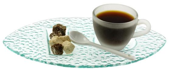 café bio fond blanc